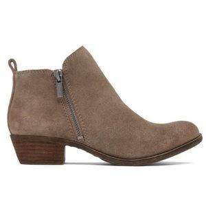 Lucky brand Basel ankle booties in brindle